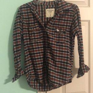Abercrombie vintage flannel